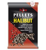 CARP ZOOM Pelety Halibut 20mm - vŕtané (800g)